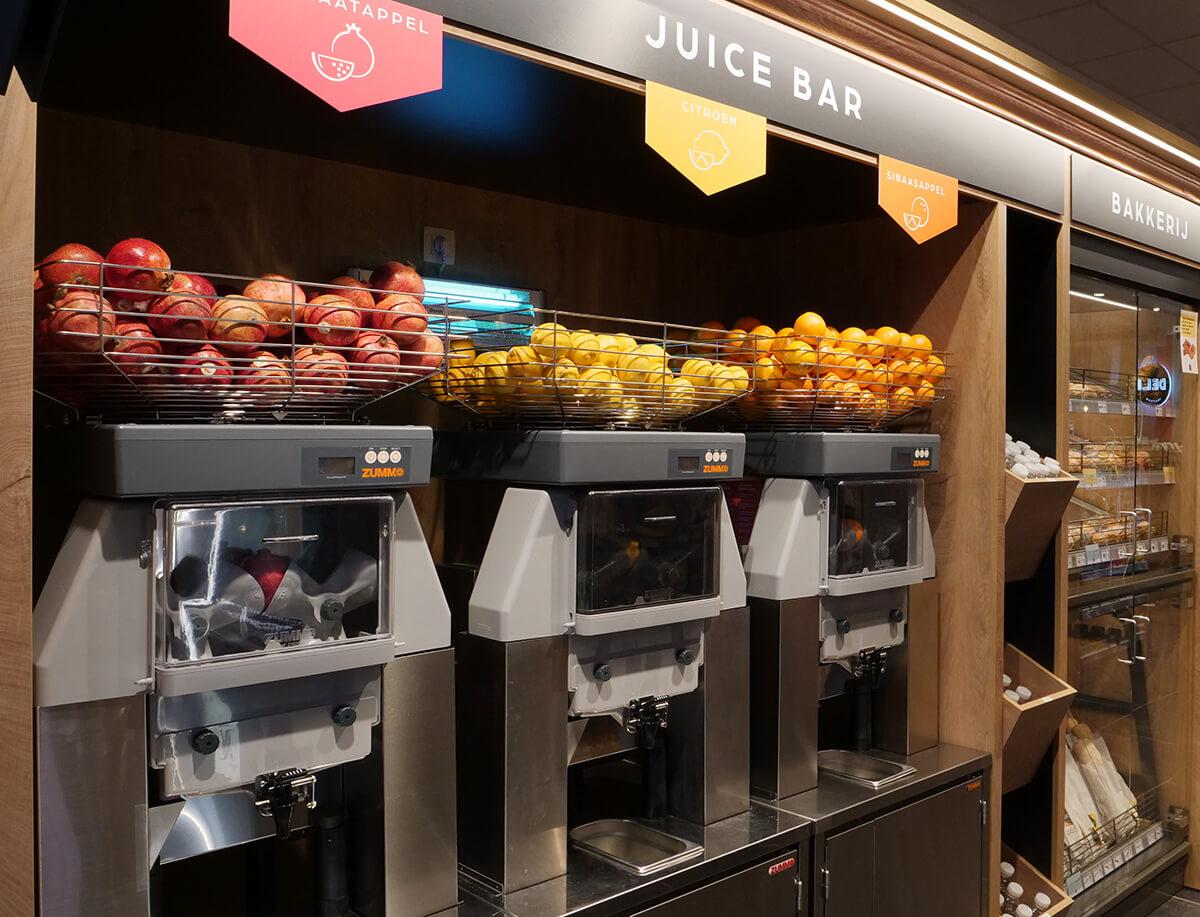 Nouveau dans nos bars à jus de fruits frais !