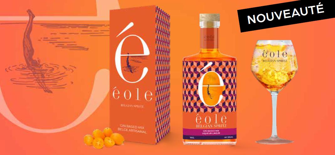 En exclusivité chez Deli, profitez presque sans modération de Éole Belgian Spritz !
