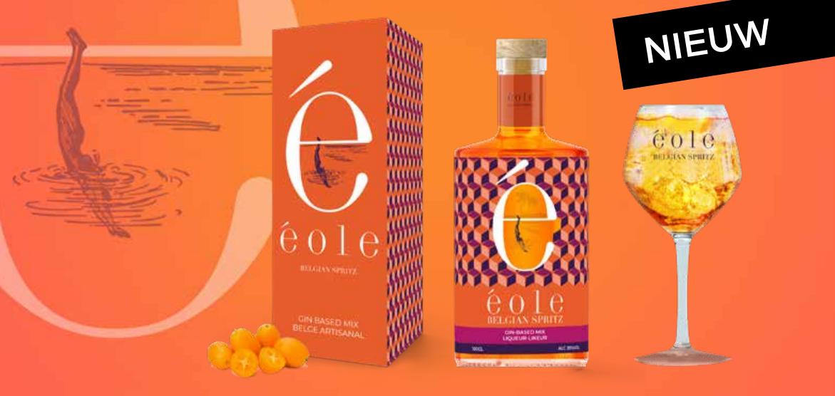 Exclusief bij Deli: (bijna) mateloos genieten van Éole Belgian Spritz!